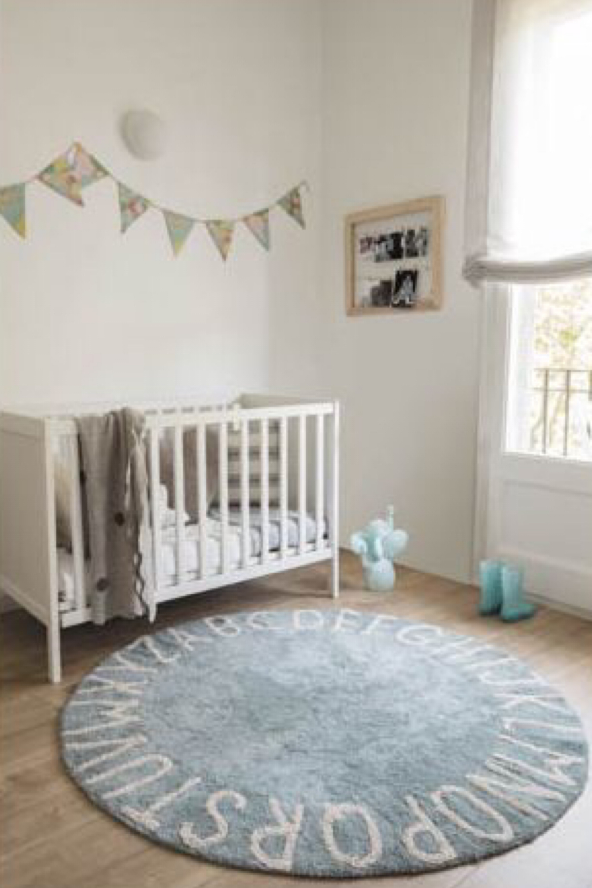 TAPETE ABC AZUL VINTAGE - LORENA CANALS | IN8 HOME